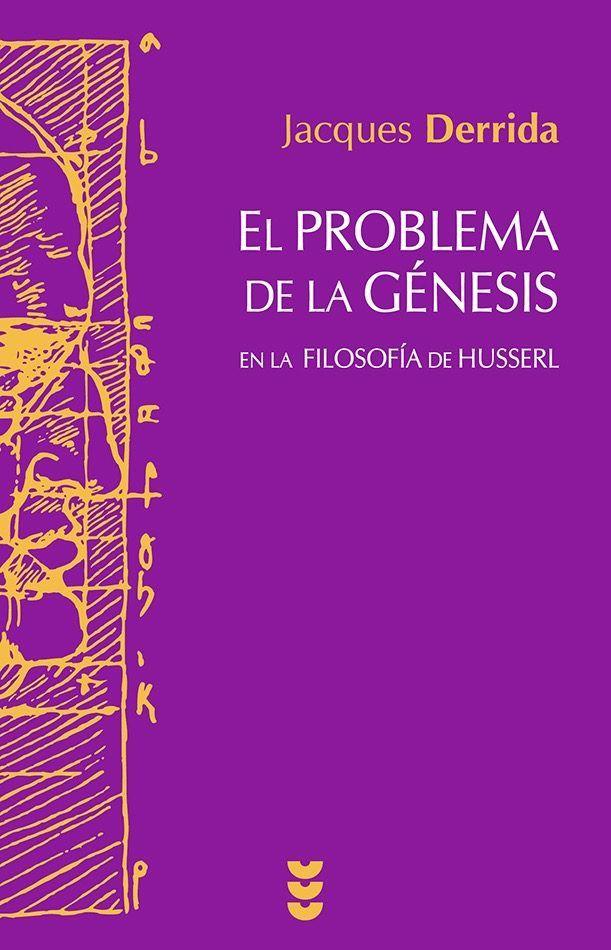 El problema de la génesis en la filosofía de Husserl intenta analizar las dificultades y reordenamientos que provocó en el fundador de la fenomenología la reflexión sobre el tiempo, el devenir y la historia, tanto en la constitución del sujeto trascendental como en la producción intencional del sentido de sus objetos, especialmente los científicos. http://absys.asturias.es/cgi-abnet_Bast/abnetop?SUBC=032401&ACC=DOSEARCH&xsqf03=jacques+derrida