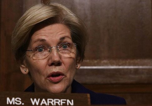 Elizabeth Warren Goes Silent on Equal Pay Day After Free Beacon Report
