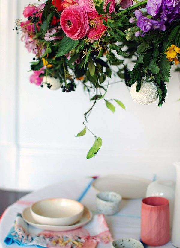 <p>If you love the idea of adding a touch of theatre when you're throwing a party – like a special birthday, engagement, or baby shower – but can't afford expensive decorators or florist-created arrangements, it's easier than you think to DIY. We created this gorgeous hanging flower chandelier from scratch in an afternoon for a […]</p>