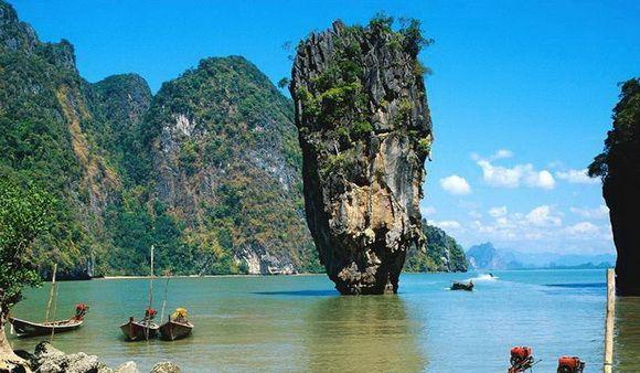 Phang Nga Bay, Thailand: James Of Arci, Jamesbond, Phang Nga, James Bond, Phuket Thailand, Phuketthailand, Islands, Thailand Travel, Krabi Thailand