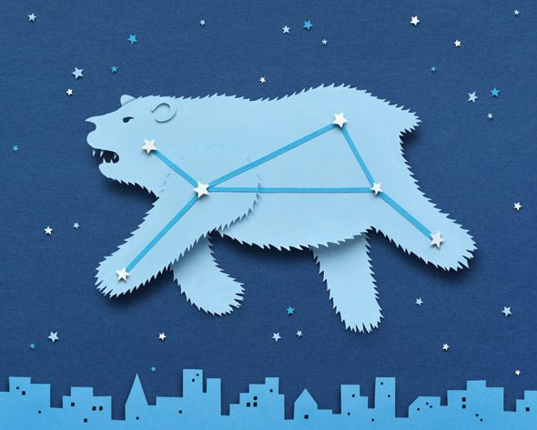 Owen Gildersleeve - Ice Bear. An illustration for Ecomagination to accompany an article about the Ice Bear - a thermal energy storage system which freezes water at night when the grid is more efficient, and then uses that ice to cool the building during the day.