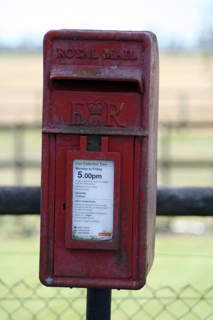 royal mail posting box