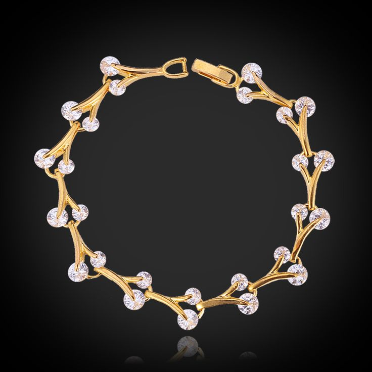 Cheap jewelry supplies ring bases, Buy Quality jewelry wholesale directly from China jewelry knit Suppliers:                            New Girls Cute Bracelet Brand 18K Gold / Platinum Plated Top Quality Cubic Zircon Brace