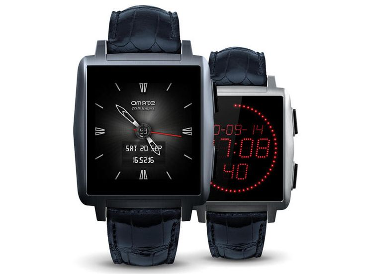 Omate X smartwatch talks to iPhone and Android, looks sharp doing it #Smartwatch