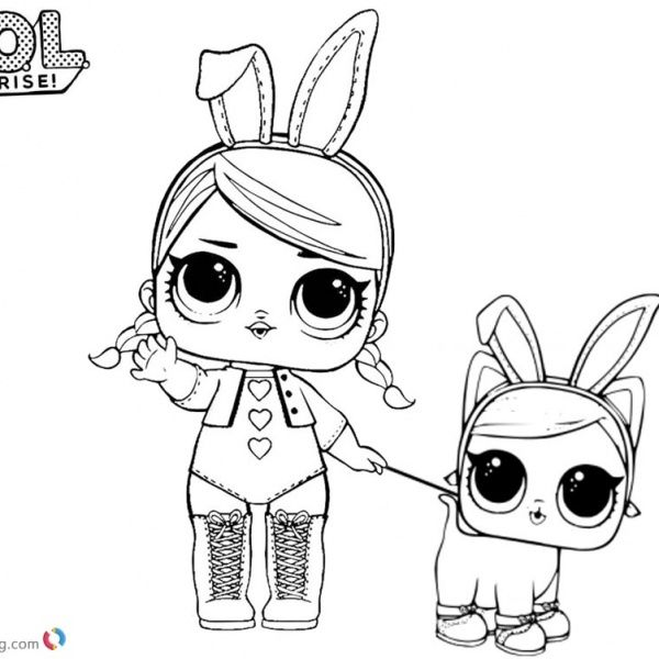 Lol Coloring Pages Sugar With Two Pet Dolls Free Printable Coloring Pages Cute Coloring Pages Elsa Coloring Pages Cool Coloring Pages
