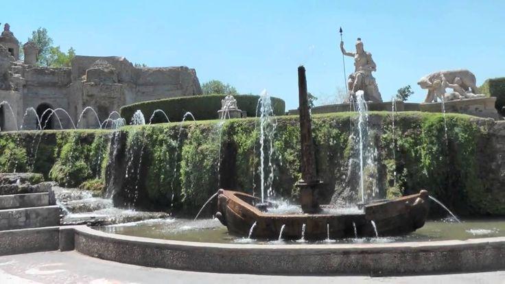 Nel giardino di Tivoli vicino all'anima di Liszt