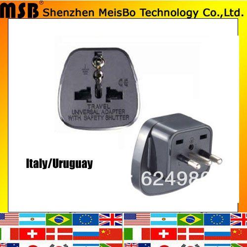 Во всем мире конвертер 10A 250 В ABS индии великобритания ЕС Италия Уругвай адаптер power plug 500 шт./лот бесплатная доставка по Fedex