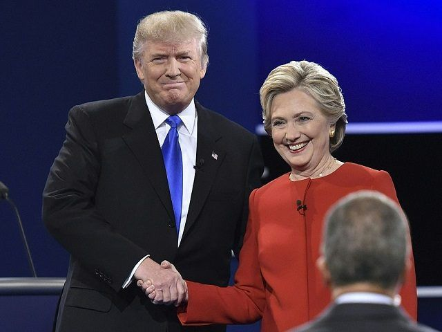 Democratic nominee Hillary Clinton has won the first presidential debate, according to a new CNN/ORC poll. The poll of debate watchers put Clinton at 62 per cent while Republican rival Donald Trump lost by 27 per cent in Monday night's debate held at the Hofstra University, New York. IANS