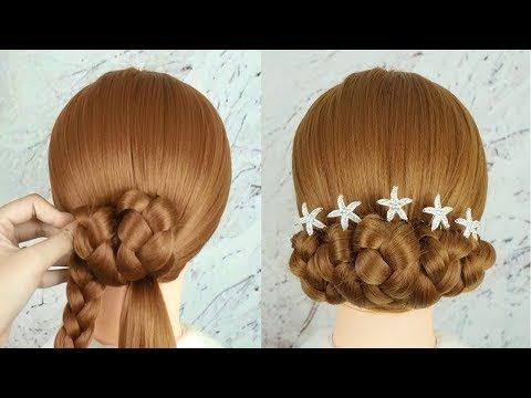 Best Party Hairstyles For Medium Hair – Easy Wedding Hairstyle 2019 For Girls | …