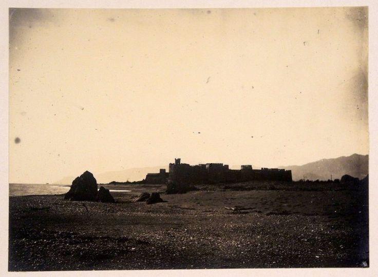 Mersin Anamur kalesi..1910-20 ler..