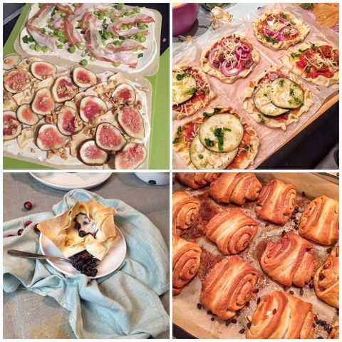 Flammkuchen, Pizzaschiffchen, MiniCheesecake, Franzbrötchen - Kochwerkstatt mit Tante Fanny