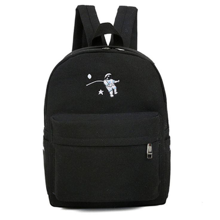 Lustige stickerei druck rucksack junior high school schüler schultasche laptop-tasche rucksack schultasche für mädchen geschenk mochila(China (Mainland))