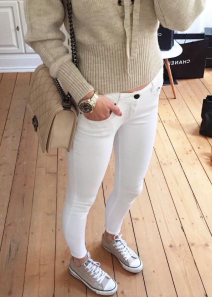 lena_terlutter, fashion, white jeans, converse, light tones, details, fashionblogger