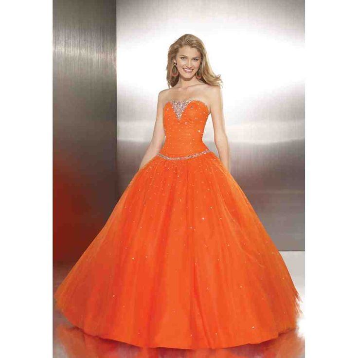 34 best orange bridesmaid dresses images on Pinterest | Orange ...