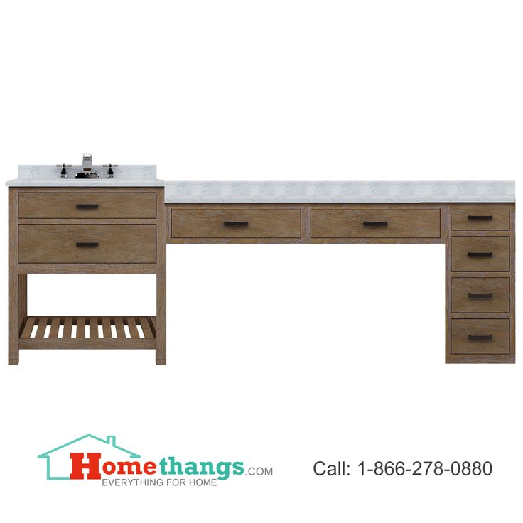 Website With Photo Gallery Sagehill Designs Toby Modular Bathroom Vanity With Drawers And A Makeup Station TBD