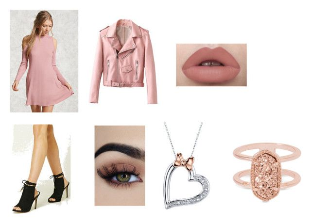 """Untitled #80"" by rosiepotter on Polyvore featuring Forever 21, Disney and Kendra Scott"
