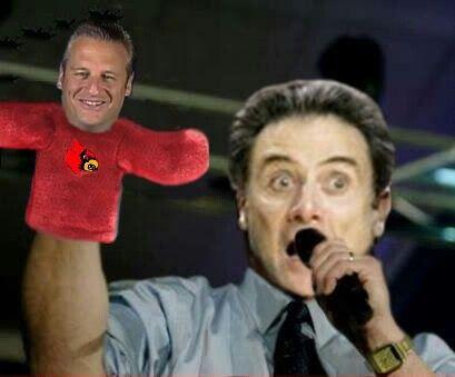 Pitino Pat Forde puppet