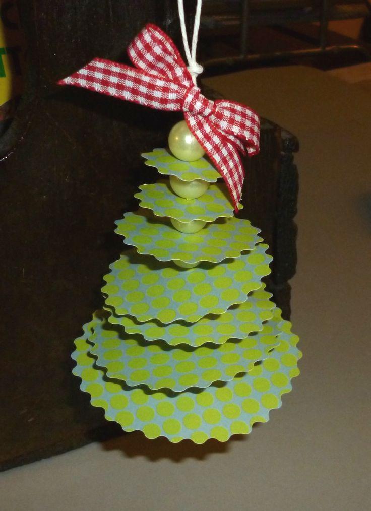 alberi natalizi con cerchi - 2