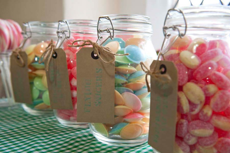 Cute, Vintage Sweets, Village Hall Wedding