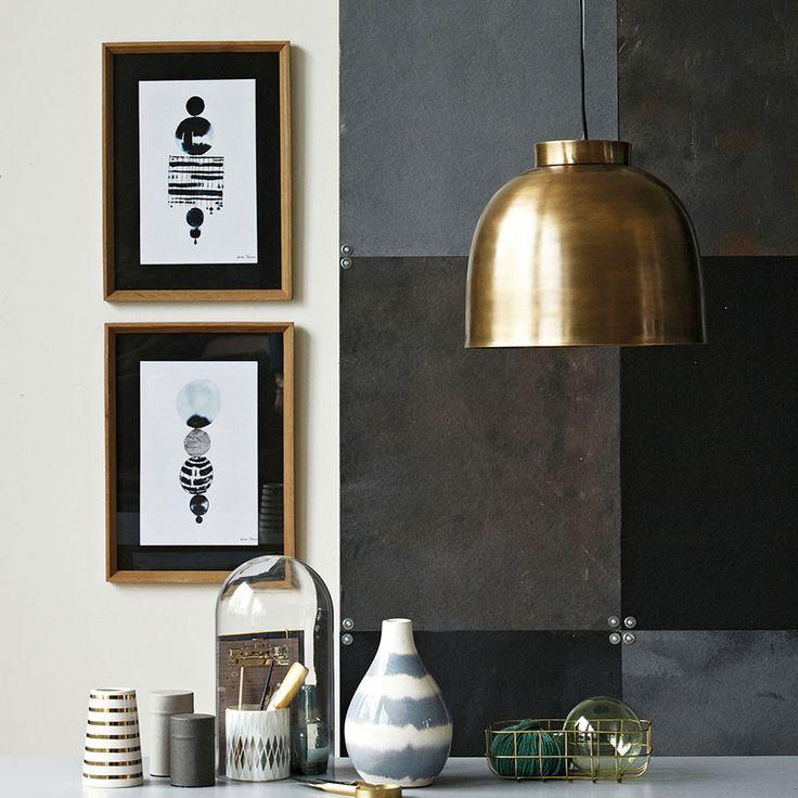 House Doctor Bowl Taklampe Messing - Pendler og hengelamper - Taklamper - Innebelysning | Designbelysning.no