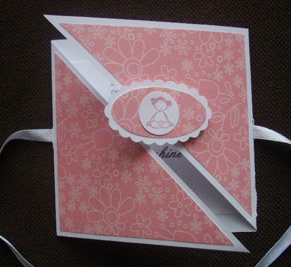 Tutoriel carte triangle - le scrap de Michelle                                                                                                                                                                                 Plus