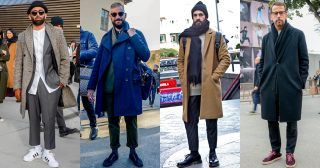 """重ね着が醍醐味と言っても過言ではない冬ファッション。数あるアイテムの組み合わせの中で、トレンドをどう取り入れるかは重要なファクターになってくるだろう。今回は、今季のトレンドを象徴するアイテムやカラーコンビ、テイストにフォーカスして注目のポイントを紹介! 冬コーデ①「""""ブラック×ブラウン""""のカラーコンビが今季メンズ冬コーデの大本命!」 今シーズン特に注目したい色の組み合わせは、断然""""ブラック×ブラウン""""。都会的な印象を与えるブラックにブラウンをミックスすることでモダンな印象に仕上がり、旬なスタイリングを演出できる。ブラックベースにブラウンをミックスするのはもちろん、その逆もアリだ。 冬コーデ②「""""プリーツパンツ""""の取り入れによって、冬コーデを旬な装いにアップデート!」 冬コーデにさりげなくトレンドを取り入れたい場合は、プリーツ入りのスラックスをチョイスするのがオススメ。昨シーズン、各セレクトショップに並ぶパンツはノープリーツとプリーツ入りのデザインが半々程度の割合で展開されていた印象が強いが、今シーズンになってプリーツパン..."""