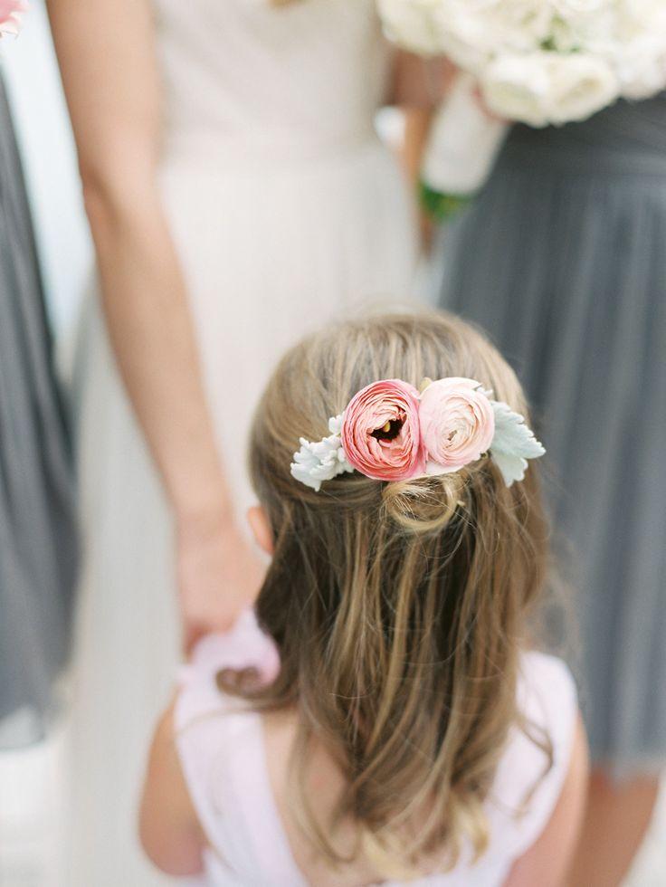 sooo pretty  Read More: http://www.stylemepretty.com/2015/03/02/pink-gray-downtown-cincinnati-wedding/