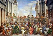 The Marriage Feast at Cana, c.1562  by Paolo Veronese (Caliari)