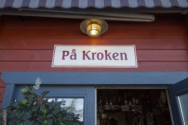 På Kroken, Sign #visitsouthcoastfinland #hanko #Finland #påkroken #food #restaurant