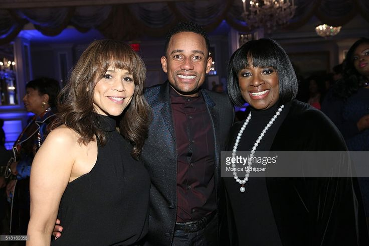 Rosie Perez, Hill Harper and LaTanya Richardson Jackson attend Children's Defense Fund's Beat the Odds Gala at the Pierre Hotel on February 29, 2016 in New York City.