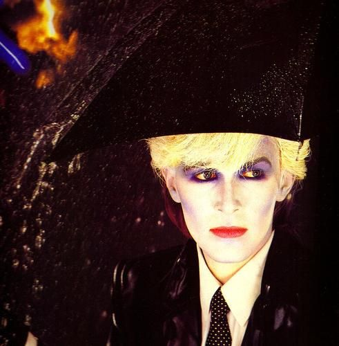 David Sylvian from the band Japan in Antony Price