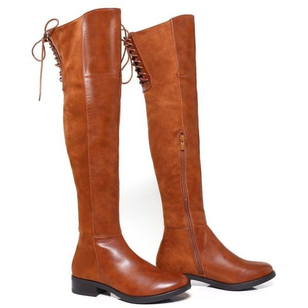 17 best ideas about brown thigh high boots on