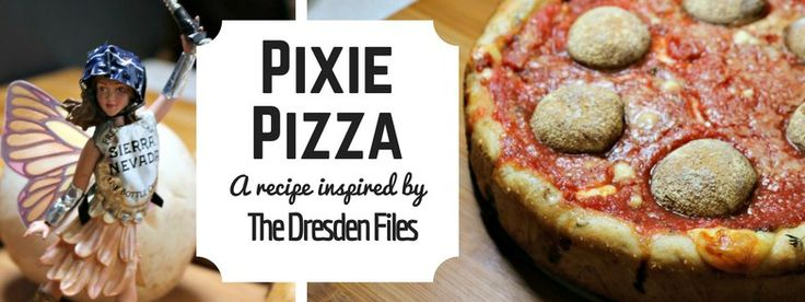 The Dresden Files: 'Za Lord Elite Deep Dish Pizza