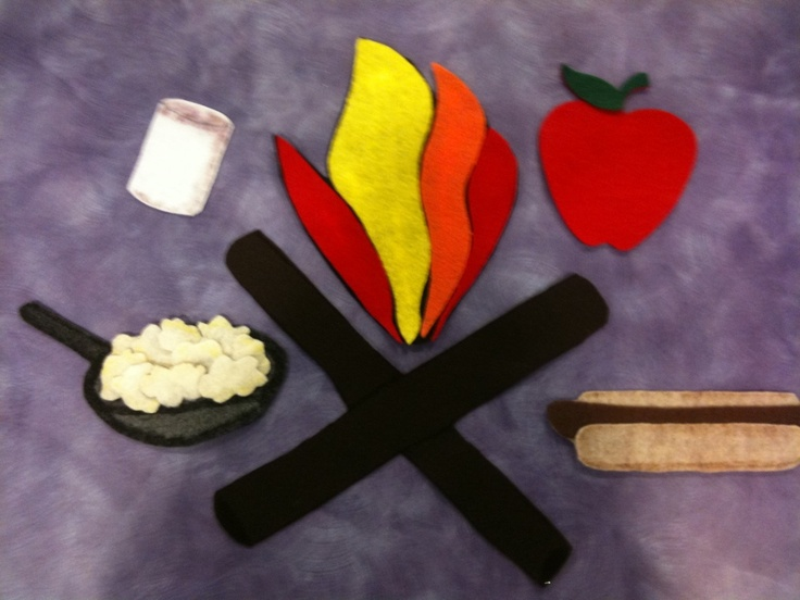 Flannel board: Campfire PokeyCampfires Pokey, Flannel Friday, Camping Theme, Flannelboard Stories, Felt Boards, Felt Stories, Boards Stories, Camps Theme, Stories Time