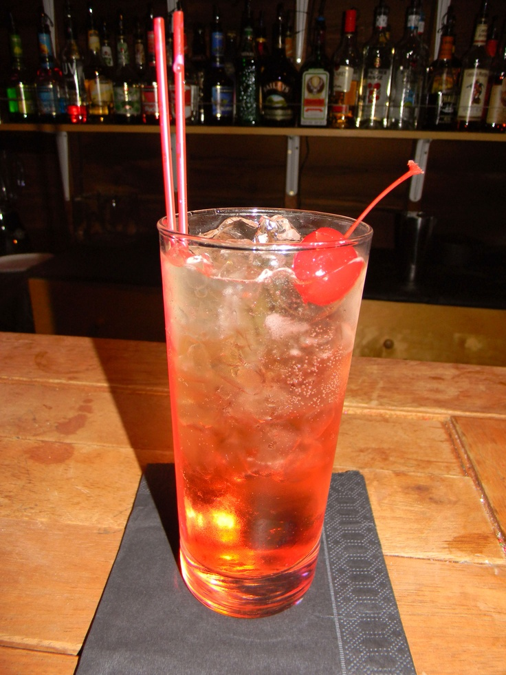 Came up with this one, I call it a Honey Boo Boo. I combined Jack Daniel's Honey, 7-UP and Grenadine.