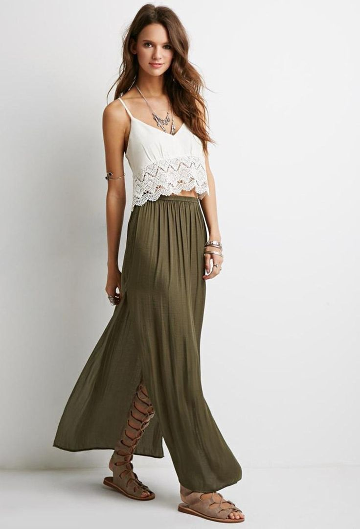 19 best Maxi Skirts images on Pinterest | Maxis, Maxi skirts and ...