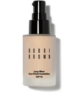 Bobbi Brown Long-Wear Even Finish Foundation SPF 15, as seen in the Spring 2013 issue of VIVmag http://www.zinio.com/pages/VIVmag/WINTER2013/416249191/pg-162