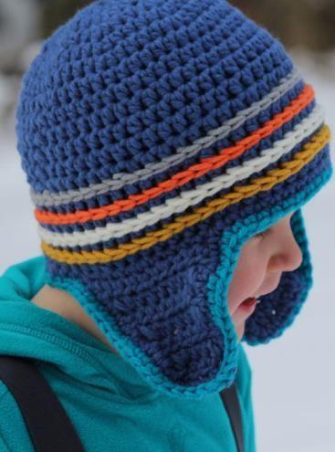 Mit Dieser Mütze Bleiben Ohren Im Winter Schön Warm Häkelanleitung