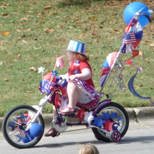 141 best images about 4th of july float ideas on pinterest for Bike decorating ideas
