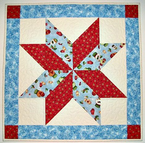 541 best Place mats, table toppers, and mug rugs images on ... : handmade christmas quilts - Adamdwight.com
