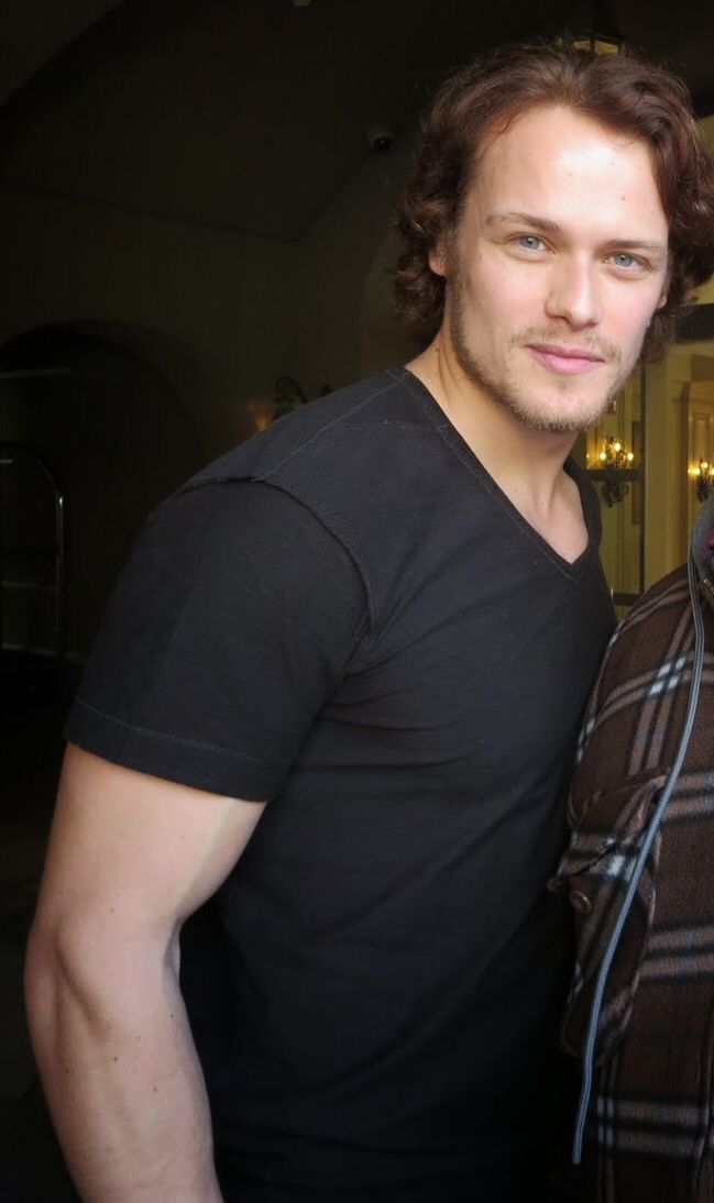 Sam Heughan as Jamie Fraser