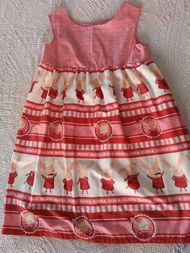 Handmade by La la bree Girls dress size 4