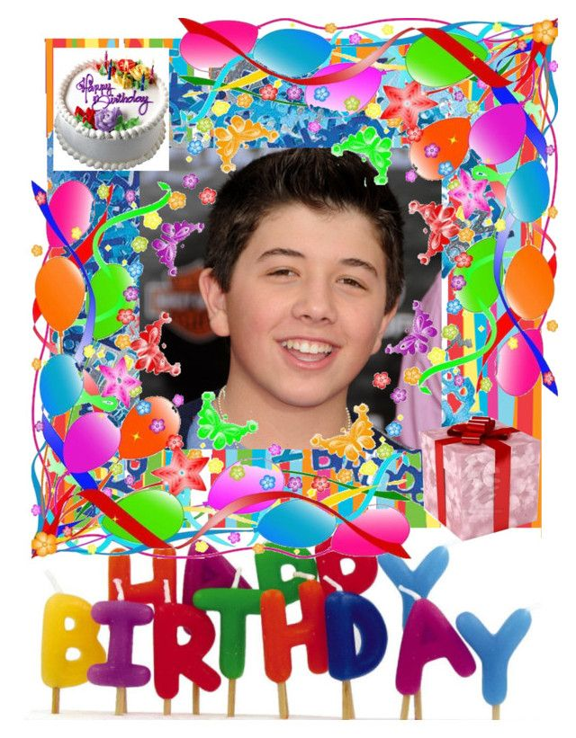 """Happy 14th Birthday Bradley Steven Perry!"" by eshirley67 ❤ liked on Polyvore featuring art"
