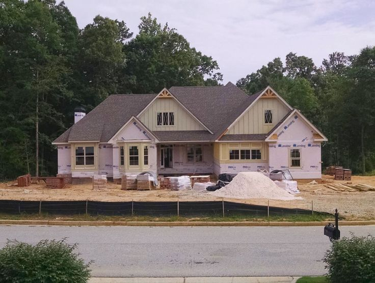 Progress photo of The Peyton plan 1289 Being build by KDH Homes