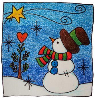 M s de 25 ideas nicas sobre dibujos navide os a color en - Motivos navidenos dibujos ...
