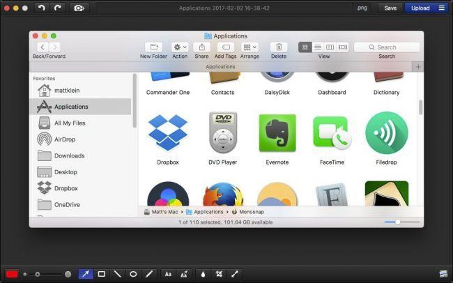 5 Aplikasi Screenshot Terbaik Di MacOS - monosnap