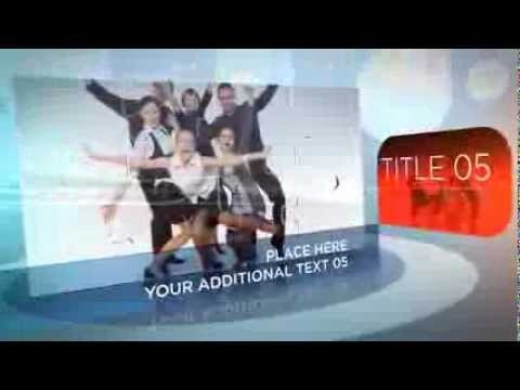 After Effects Template Business Puzzle Download - YouTube
