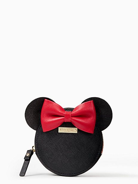 kate spade new york for minnie mouse minnie coin purse, multi