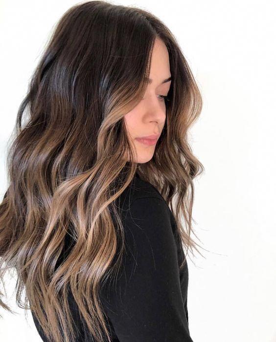 35 Popular Brunette Balayage Hair Color Ideas – Page 19 – Foliver blog #brow... #Balayage #Blog #brow #Brunette #color #foliver #Hair #ideas #page #popular