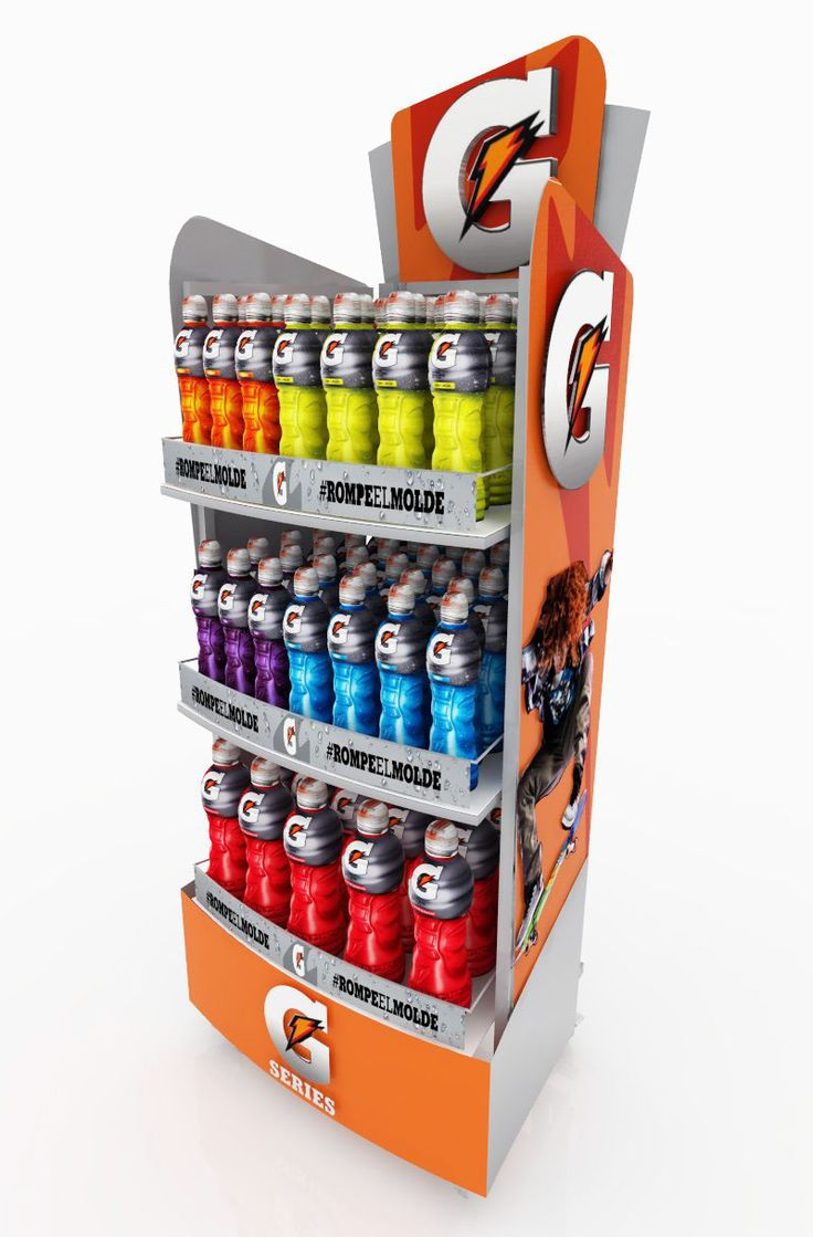 GATORADE MEXICO POSM on Behance